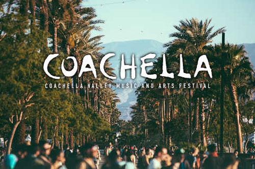 Asistentes al festival de Coachella.