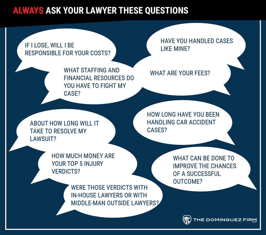 preguntas sobre accidentes de auto