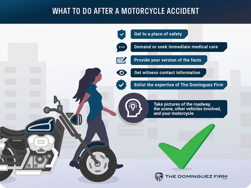 What Do I After Motorcycle Accident Claim