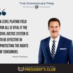 presidents club attorney California