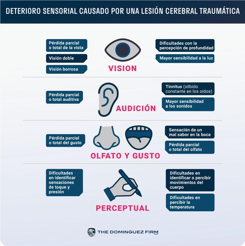 Deterioro Sensorial Causado por Lesiones Cerebrales Traumaticas