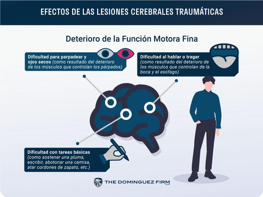 Efectos de Lesiones Cerebrales-Traumaticas Funcion Motora Fina