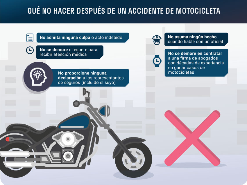 Que No Hacer_Despues de un Accidente de Motocicleta