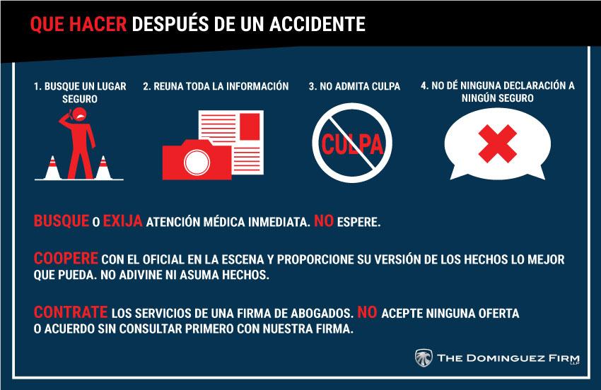 Que Hacer Despues De Un Accidente