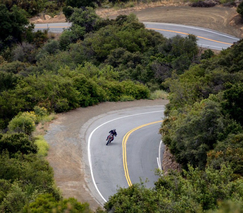 Motorcycle route California