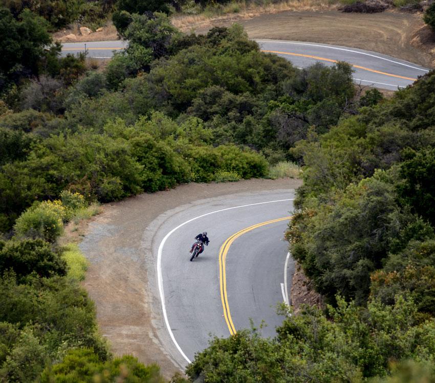Rutas de Motocicleta en California