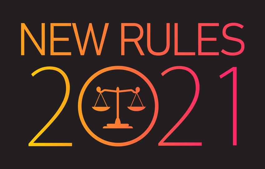 2021 New Rules