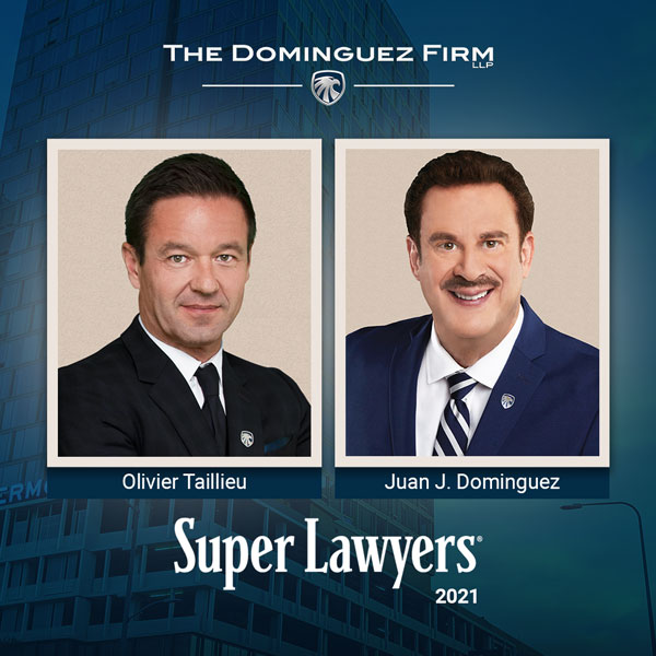 Southern California Super Lawyers list for 2021