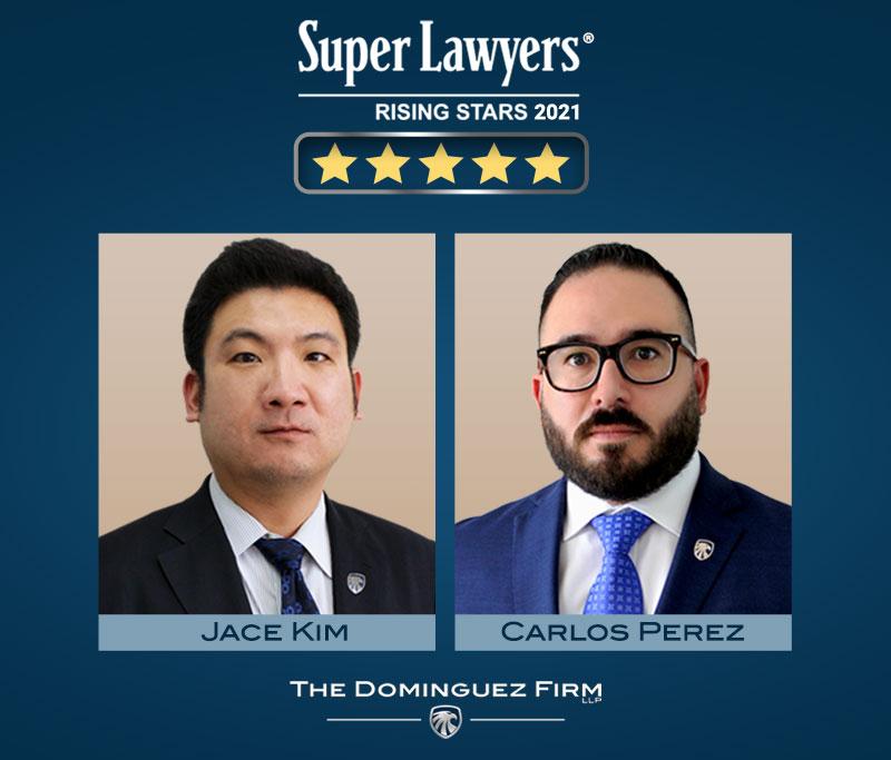 Nombrados Estrellas en Ascenso de Super Lawyers