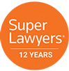 Super Lawyers 12 years